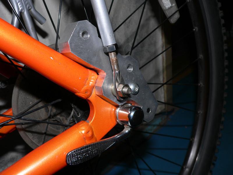 Как сделать передний тормоз на велосипеде 476
